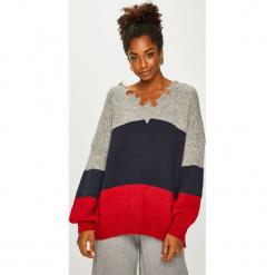 Answear - Sweter. Szare swetry klasyczne damskie ANSWEAR, uniwersalny, z dzianiny. Za 189,90 zł.