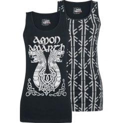 Amon Amarth EMP Signature Collection Top damski czarny. Czarne topy damskie Amon Amarth, s, z nadrukiem, z materiału, z okrągłym kołnierzem. Za 79,90 zł.