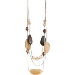 Naszyjniki damskie: Naszyjnik z kamieniami