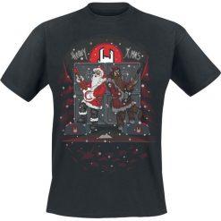 EMP EMP Heavy X-Mas T-Shirt czarny. Czarne t-shirty męskie z nadrukiem EMP, l, z okrągłym kołnierzem. Za 54,90 zł.