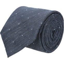 Krawat cotton szary classic 201. Szare krawaty męskie Recman, z aplikacjami, z bawełny, eleganckie. Za 59,00 zł.