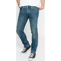 Levi's - Jeansy Altered 511. Brązowe jeansy męskie slim marki Levi's®. W wyprzedaży za 299,90 zł.