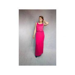Sukienki: SUKIENKA RARITY | LETNIA MAXI FUKSJA