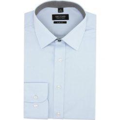 Koszula bexley 2799 długi rękaw slim fit niebieski. Niebieskie koszule męskie slim Recman, m, z długim rękawem. Za 139,00 zł.