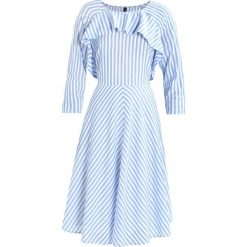 Sukienki hiszpanki: YAS YASNIMA Sukienka letnia bright white/blue