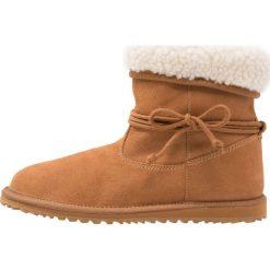 Buty zimowe damskie: Roxy PENNY Botki tan