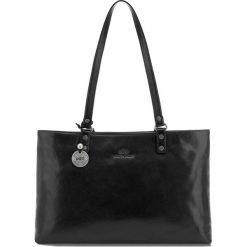 Torebka damska 35-4-205-1. Czarne torebki klasyczne damskie Wittchen. Za 999,00 zł.