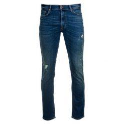 Mustang Jeansy Męskie Vegas 36/34 Ciemny Niebieski. Niebieskie jeansy męskie regular Mustang. Za 319,00 zł.