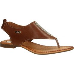 SANDAŁY CARINII B2173-896. Brązowe sandały damskie marki Carinii. Za 99,99 zł.