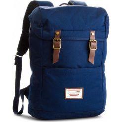 Plecak DOUGHNUT - D115-0069-F Navy. Niebieskie plecaki męskie Doughnut, z materiału. W wyprzedaży za 239,00 zł.