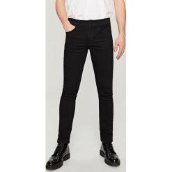 Rurki męskie: Jeansy super skinny fit - Czarny