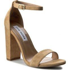 Sandały damskie: Sandały STEVE MADDEN – Carrson Sandal 91000008-0W0-10003-11002 Sand