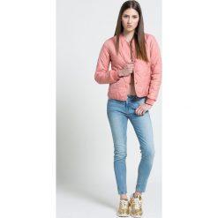 Review - Jeansy. Szare jeansy damskie skinny marki Review, l, z tkaniny, z okrągłym kołnierzem. W wyprzedaży za 119,90 zł.