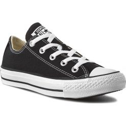 Trampki CONVERSE - All Star Ox M9166C Black. Czarne tenisówki męskie Converse, z jeansu. Za 279,00 zł.