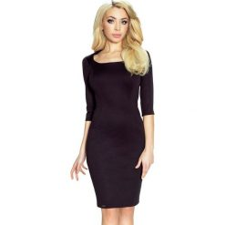 Sukienki balowe: Domenica – klasyczna i wygodna sukienka z podkreślająca kobiece kształty czarna