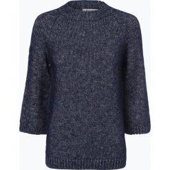 März - Sweter damski z dodatkiem alpaki, niebieski. Brązowe swetry klasyczne damskie marki Alma en Pena, z materiału, na obcasie. Za 499,95 zł.