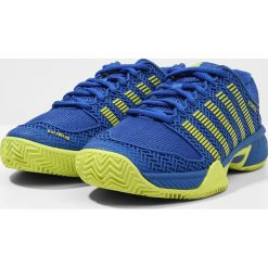 Buty do tenisa męskie: KSWISS HYPERCOURT EXPRESS HB Obuwie multicourt strong blue/neon citron