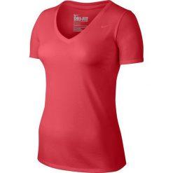 Nike Koszulka damska V-Neck DFC SS Tee 2.0 różowa r. XS (694363 850). Czerwone topy sportowe damskie Nike, xs. Za 78,62 zł.