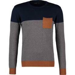 Swetry klasyczne męskie: Teddy Smith PILOU Sweter us navy