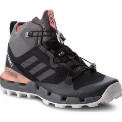 Buty adidas - Terrex Fast Mid Gtx-Surround GORE-TEX AH2250  Cblack/Grefiv/Chacor. Czarne buty trekkingowe męskie Adidas, z gore-texu, outdoorowe, adidas terrex, gore-tex. W wyprzedaży za 559,00 zł.
