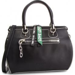 Torebka MONNARI - BAGB920-020 Black. Brązowe torebki klasyczne damskie marki Monnari, w paski, z materiału, średnie. W wyprzedaży za 209,00 zł.