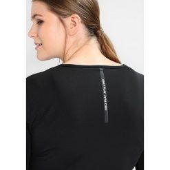 Topy sportowe damskie: Only Play ONPDUBI TRAINING  Koszulka sportowa black