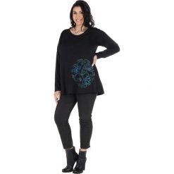Odzież damska: Koszulka w kolorze czarno-niebieskim