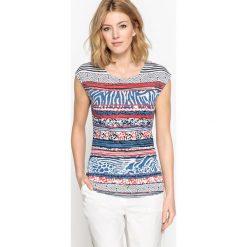 T-shirty damskie: T-shirt z nadrukiem z krótkim rękawem