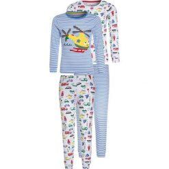 Mothercare BOYS HELICOPTER 2 PACK  Piżama blue. Niebieskie bielizna chłopięca marki mothercare, z bawełny. Za 139,00 zł.
