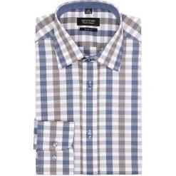 Koszula bexley 2645 długi rękaw slim fit niebieski. Szare koszule męskie slim marki Recman, na lato, l, w kratkę, button down, z krótkim rękawem. Za 149,00 zł.