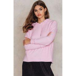 Bluzy rozpinane damskie: Samsoe & Samsoe Bluza z kapturem Foxx - Pink