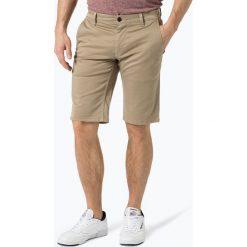 Bermudy męskie: BOSS Casual - Męskie spodenki – Schino-Regular-Shorts D, beżowy