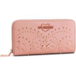 Duży Portfel Damski LOVE MOSCHINO - JC5606PP17LR0600 Rosa. Czerwone portfele damskie Love Moschino, ze skóry ekologicznej. Za 479,00 zł.