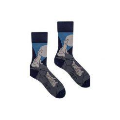 O wilku mowa - kolorowe skarpetki Spox Sox. Szare skarpetki męskie Spox sox, w kolorowe wzory. Za 25,00 zł.