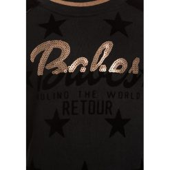 Retour Jeans LYNNE Bluza black. Czarne bluzy dziewczęce marki Retour Jeans, z bawełny. W wyprzedaży za 224,10 zł.