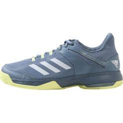 Buty sportowe damskie: adidas Performance ADIZERO CLUB  Obuwie multicourt blue