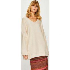 Answear - Sweter Nomad. Szare swetry oversize damskie ANSWEAR, l, z dzianiny. W wyprzedaży za 94,90 zł.
