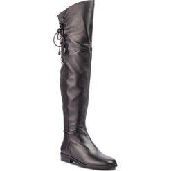 Muszkieterki BRUNO PREMI - Nappa U0102G Nero. Czarne buty zimowe damskie Bruno Premi, ze skóry, przed kolano, na wysokim obcasie, na obcasie. Za 929,00 zł.