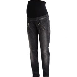 Boyfriendy damskie: 9Fashion GLOS Jeansy Relaxed Fit black