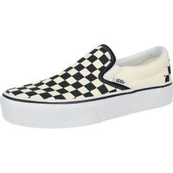Vans Classic Slip-On Platform Checkerboard Buty sportowe czarny/biały. Szare trampki i tenisówki damskie marki Vans, z materiału. Za 304,90 zł.
