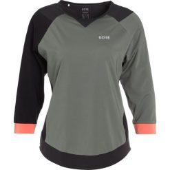 Gore Wear ALL MOUNTAIN Koszulka sportowa castor grey/terra grey. Szare t-shirty damskie Gore Wear, z elastanu, z długim rękawem. Za 279,00 zł.