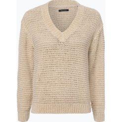 Marc O'Polo - Sweter damski, beżowy. Brązowe swetry klasyczne damskie Marc O'Polo, l, z dzianiny, polo. Za 619,95 zł.
