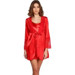 Koszule nocne i halki: Koszula nocna w kolorze czerwonym