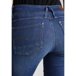 GStar LYNN MID SKINNY NEW Jeans Skinny Fit ment superstretch. Niebieskie jeansy damskie relaxed fit marki G-Star, z bawełny. W wyprzedaży za 363,35 zł.