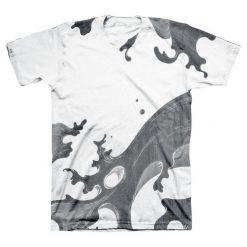 T-shirty męskie: Linkin Park Waves T-Shirt biały