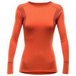 Devold Koszulka Damska Hiking Woman Shirt Brick L. Czerwone topy sportowe damskie marki Devold, l, z wełny. W wyprzedaży za 219,00 zł.