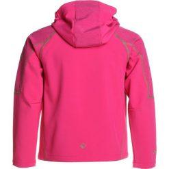 Regatta ACIDITY II Kurtka Softshell hotpk. Czerwone kurtki dziewczęce softshell marki Regatta, z elastanu. Za 189,00 zł.