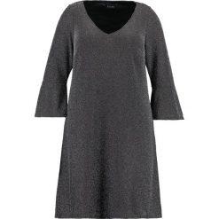 Sukienki hiszpanki: Evans GLITTER FLUTE SLEEVE Sukienka letnia silver