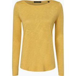 Marc O'Polo - Damska koszulka z długim rękawem, żółty. Żółte t-shirty damskie Marc O'Polo, m, z bawełny, polo. Za 179,95 zł.