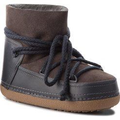 Buty INUIKII - Boot Classic 70101-7 D'Grey. Niebieskie buty zimowe damskie Inuikii, ze skóry. Za 1269,00 zł.